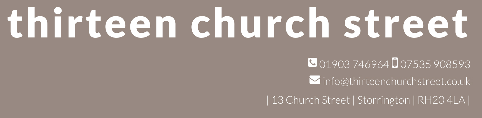 Logo for Thirteen Church Street